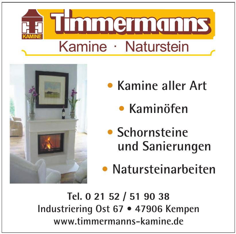 Timmermanns Kamine - Naturstein