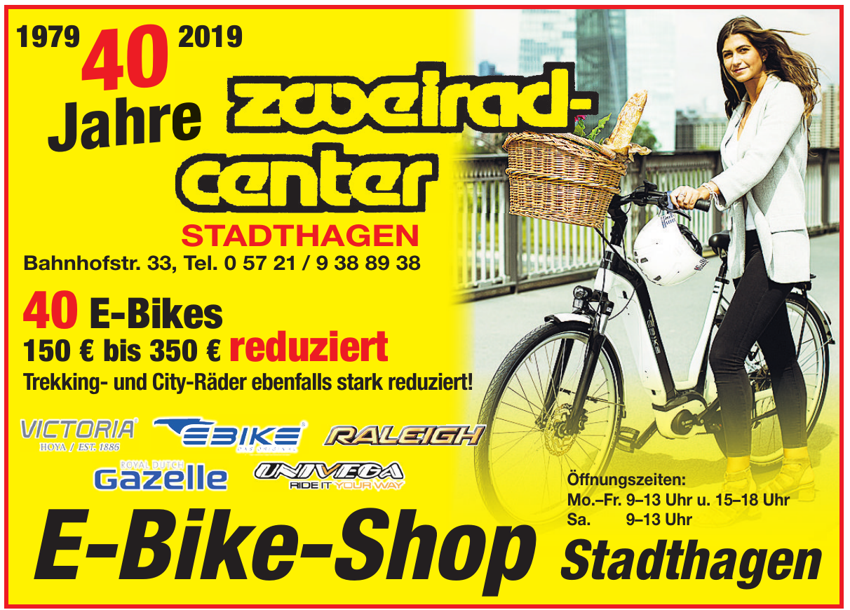 E-Bike-Shop Stadthagen
