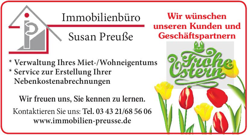 Immobilienbüro Susan Preuße