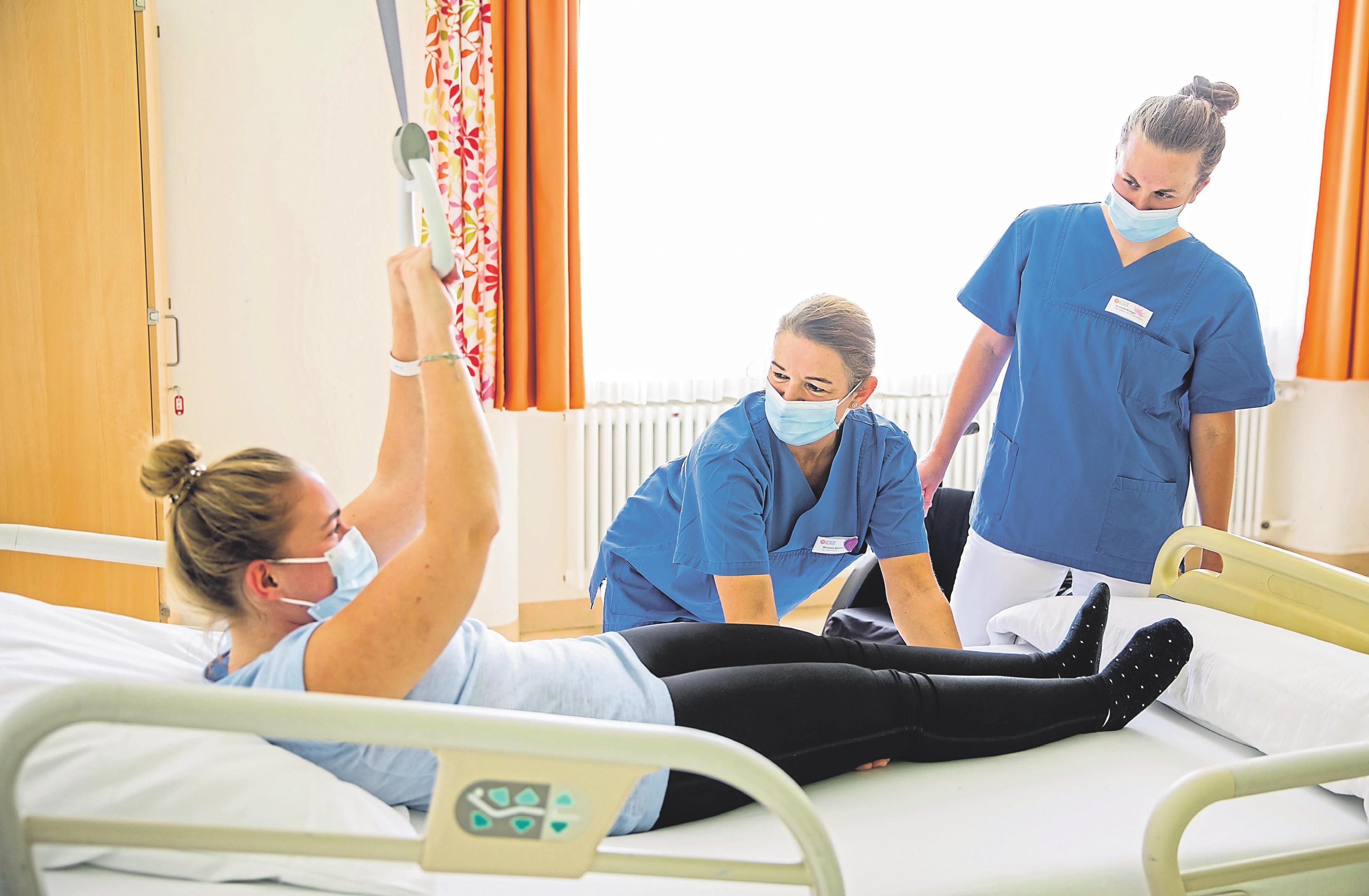 Die Pflegeberufe werden zunehmend attraktiver  Image 2