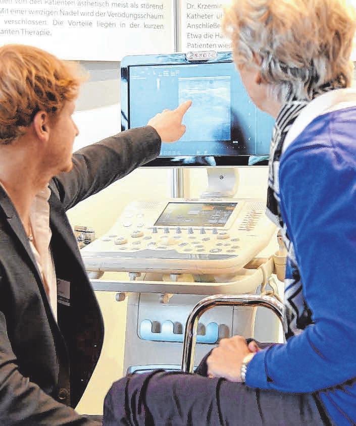 Die Gesundheitstage ermöglichen einen kostenlosen Gesundheitscheck. FOTO: PR