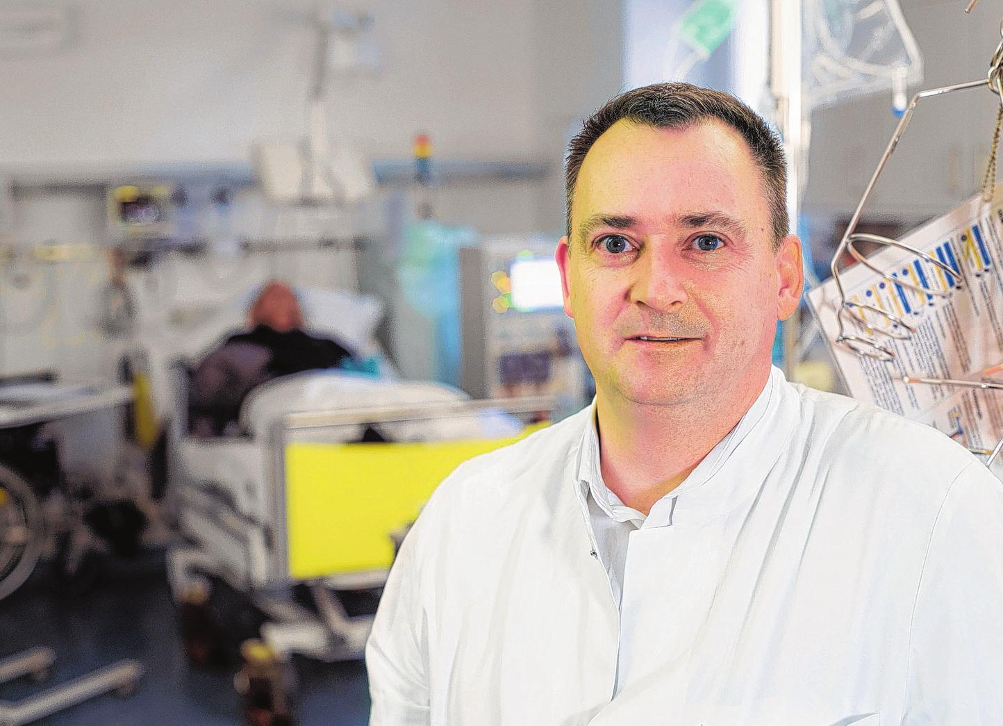 Oberarzt Dr. med. Jörg Reindel vom Klinikum Karlsburg. FOTOS (3): Anette Pröber