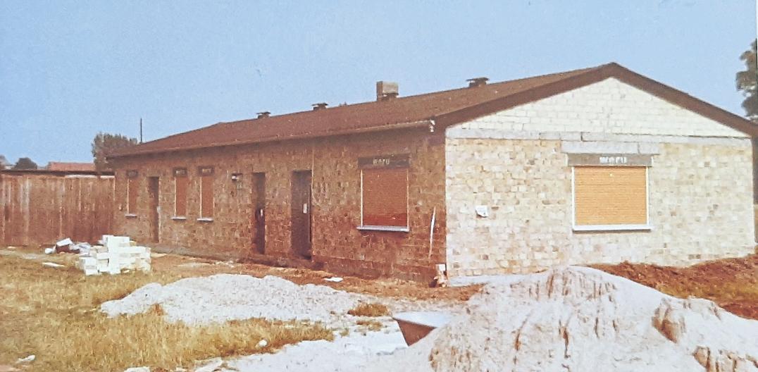 Die Grundsteinlegung für das Vereinsheim fand im Jahr 1972 statt, ein Jahr später folgte die Einweihung. Foto: SpVgg Selzen