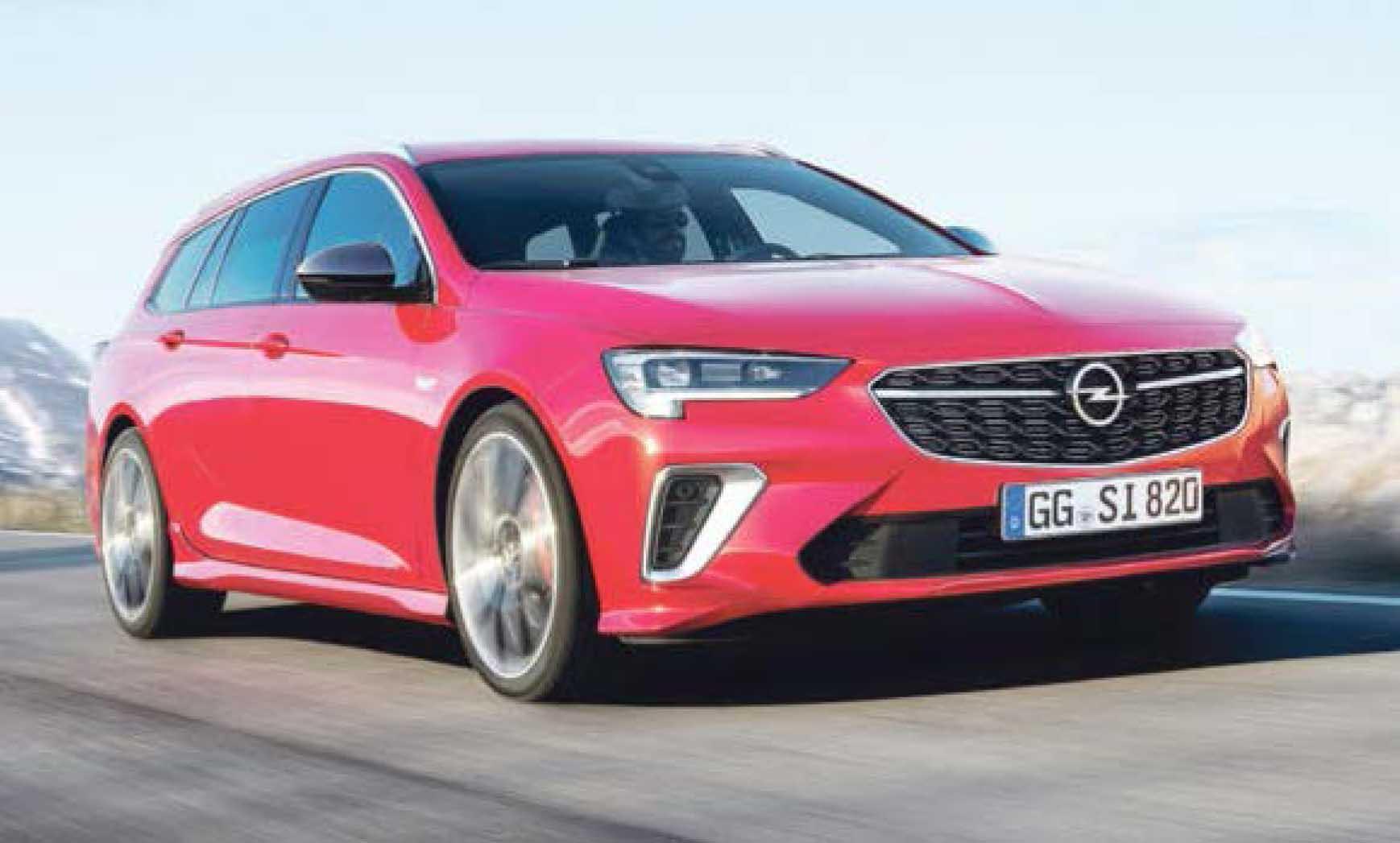 Der GSi ist der Sportlichste in der neuen Insignia-Flotte. Er spurtet mit Zweiliter-Turbobenziner (169 kW/230 PS, Verbrauchswerte nach WLTP gemessen und in NEFZ umgerechnet, kombiniert, vorläufige Werte: 6,9 l/100 km, CO2-Emission 161 g/km) ins neue Jahr.