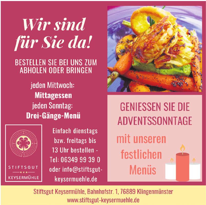 Stiftsgut Keysermühle gem. GmbH