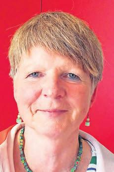 Monika Strecker, Ortsbürgermeisterin von Poggenhagen.