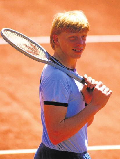 Boris Becker war früh erfolgreich. 1992 wurde er mit Michael Stich sogar zum Olympiasieger.FOTO: FRINKE/IMAGO