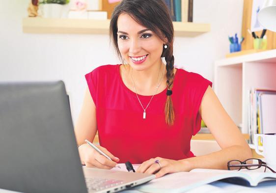 Zu Hause neue Kenntnisse zu erwerben kann Spaß machen Foto: megaflopp - stock.adobe.com