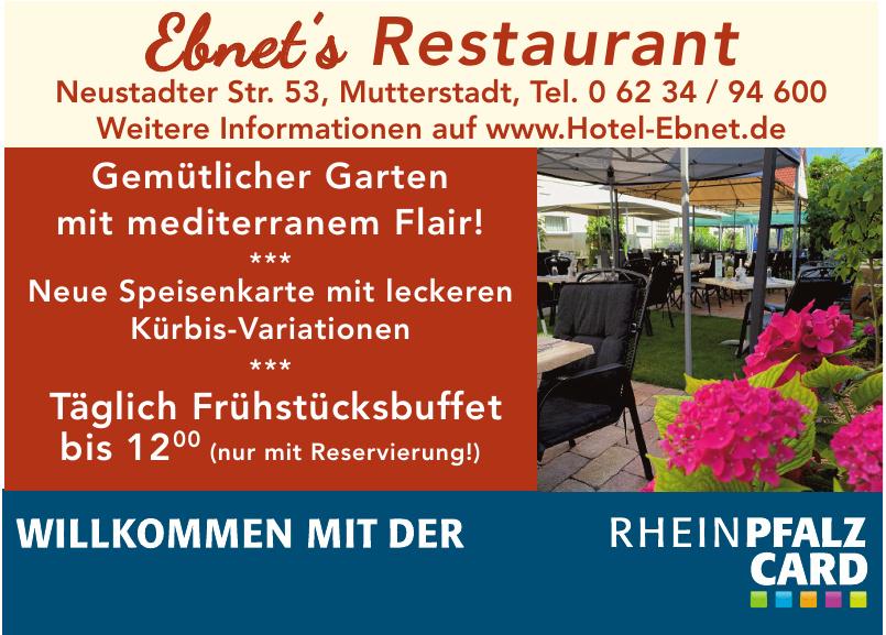 Ebnet´s Restaurant