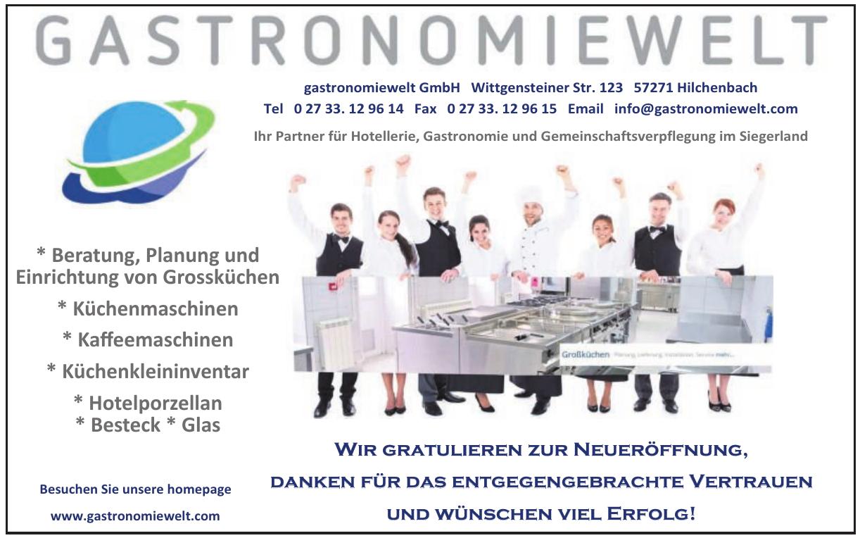 Gastronomiewelt GmbH