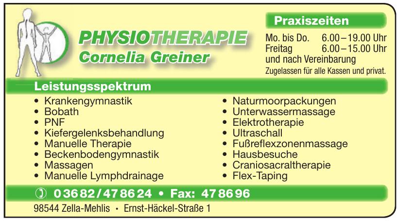 Physiotherapie Cornelia Greiner