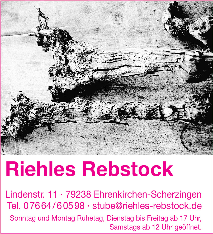 Riehles Rebstock