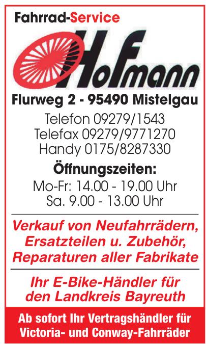 Fahrrad-Service Hofmann
