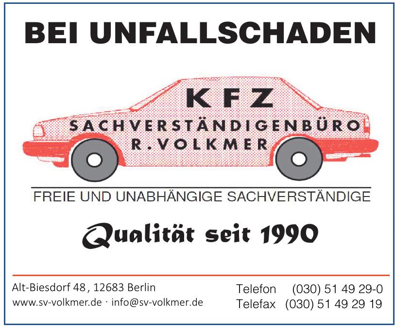 KFZ Sachversändigenbüro R. Volkmer
