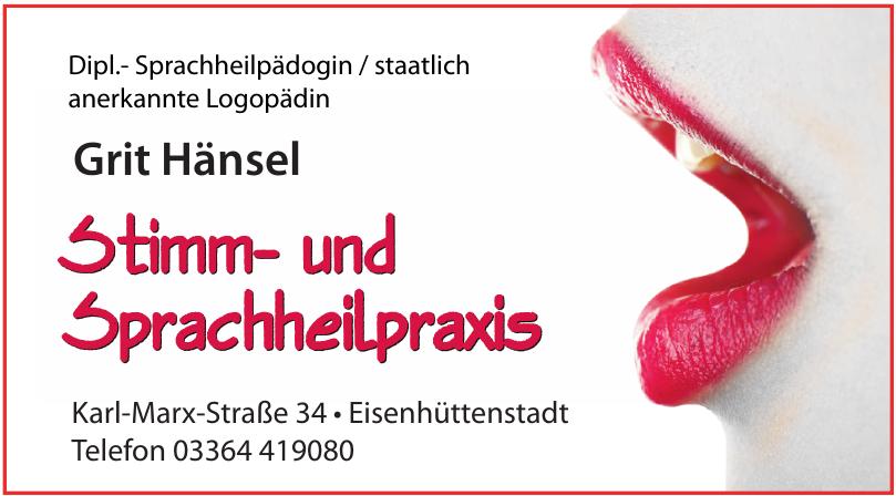 Grit Hänsel Stimm- und Sprachheilpraxis