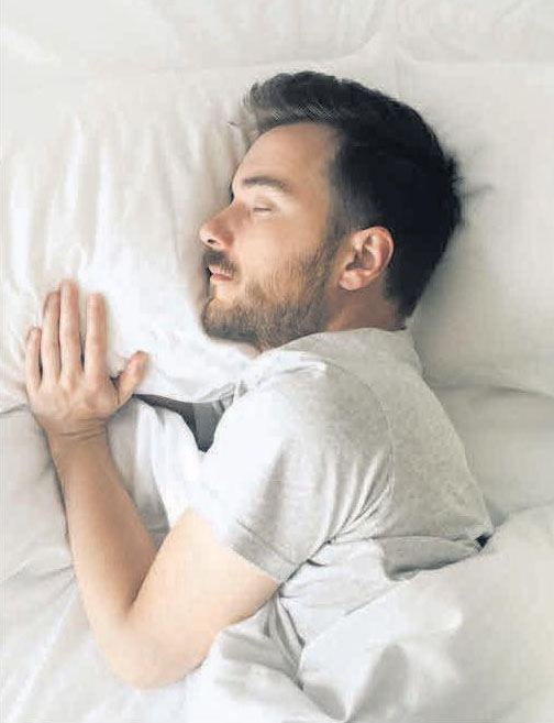 Wellness für die Haut: erholsamer Schlaf.