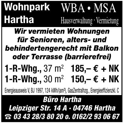 Wohnpark Hartha