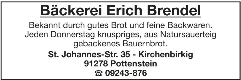 Bäckerei Erich Brendel