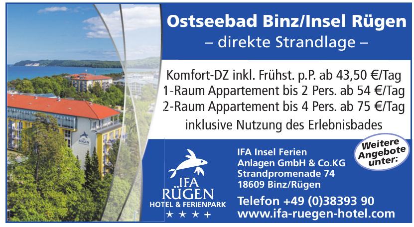 IFA Insel Ferien Anlagen GmbH & Co.KG