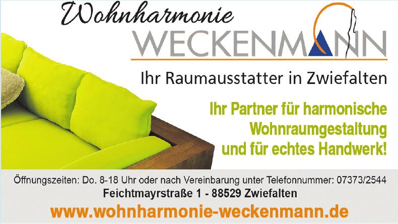 Wohnharmonie Weckenmann