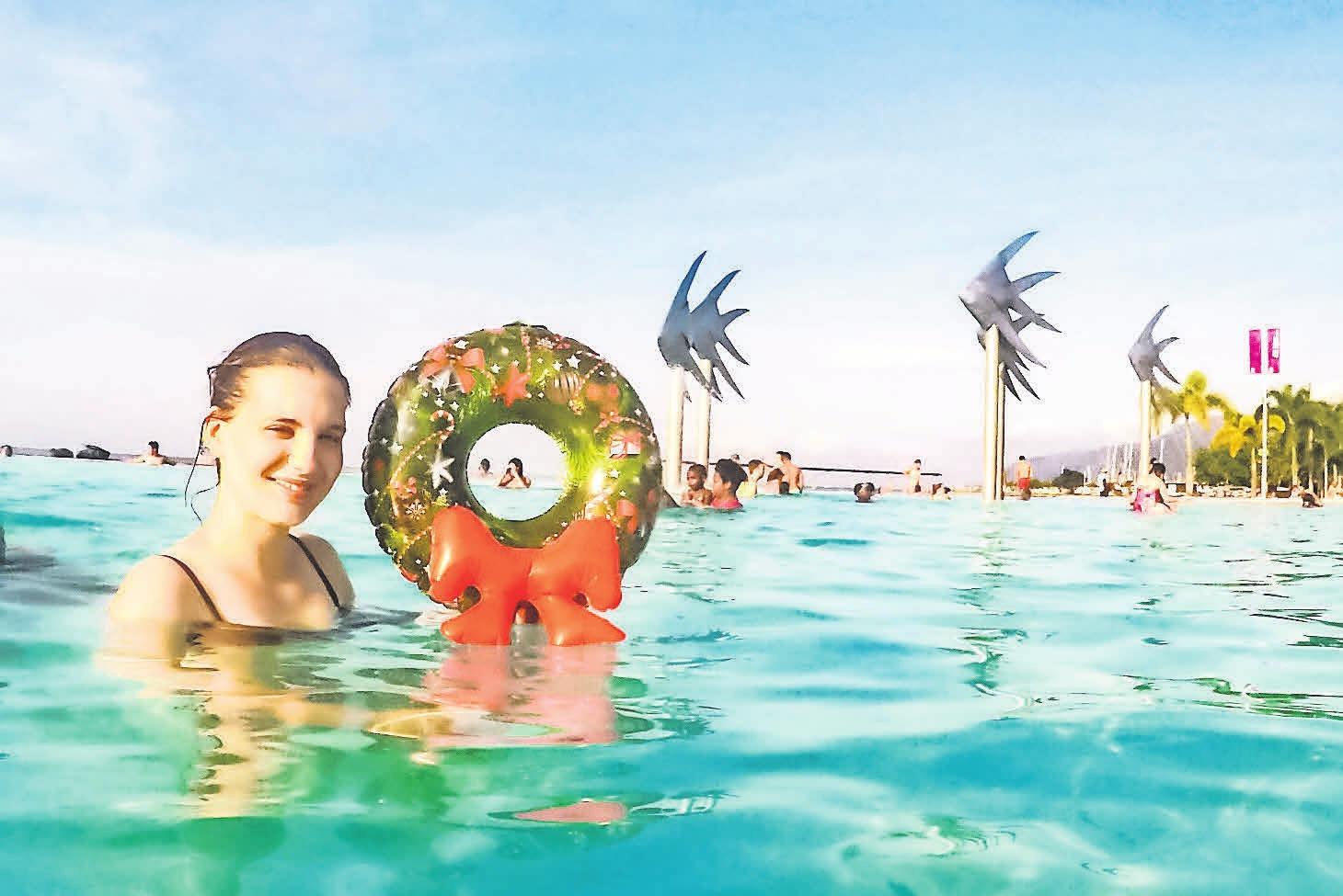 Sommerliche Grüße aus Cairns sendet Jule. Das ist unsere Gewinnerin.