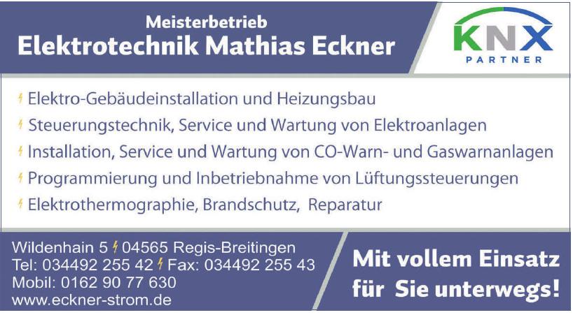 Elektrotechnik Mathias Eckner