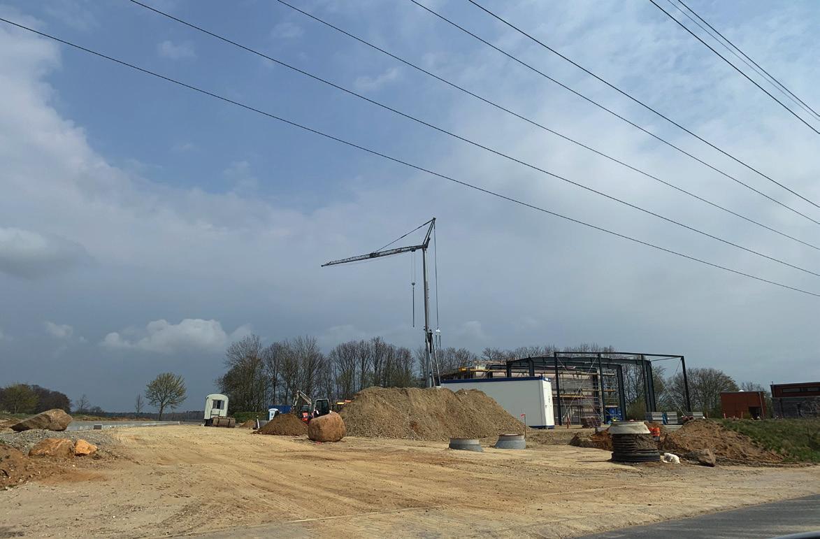 Das Baugrundstück für die Regenbogen Fahrdienst GmbH im Heinenkamp. © WMG Wolfsburg