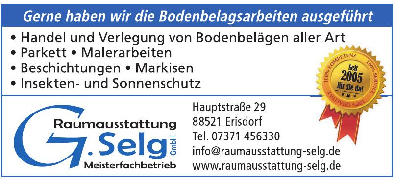 Raumausstattung G. Selg GmbH