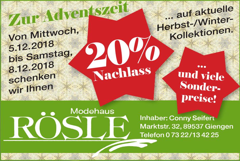 Modehaus Rösle