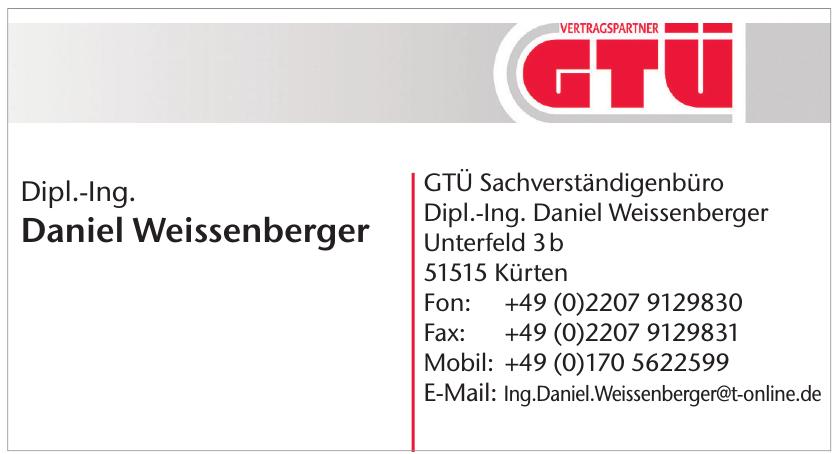 GTÜ Sachverständigenbüro Dipl.-Ing. Daniel Weissenberger