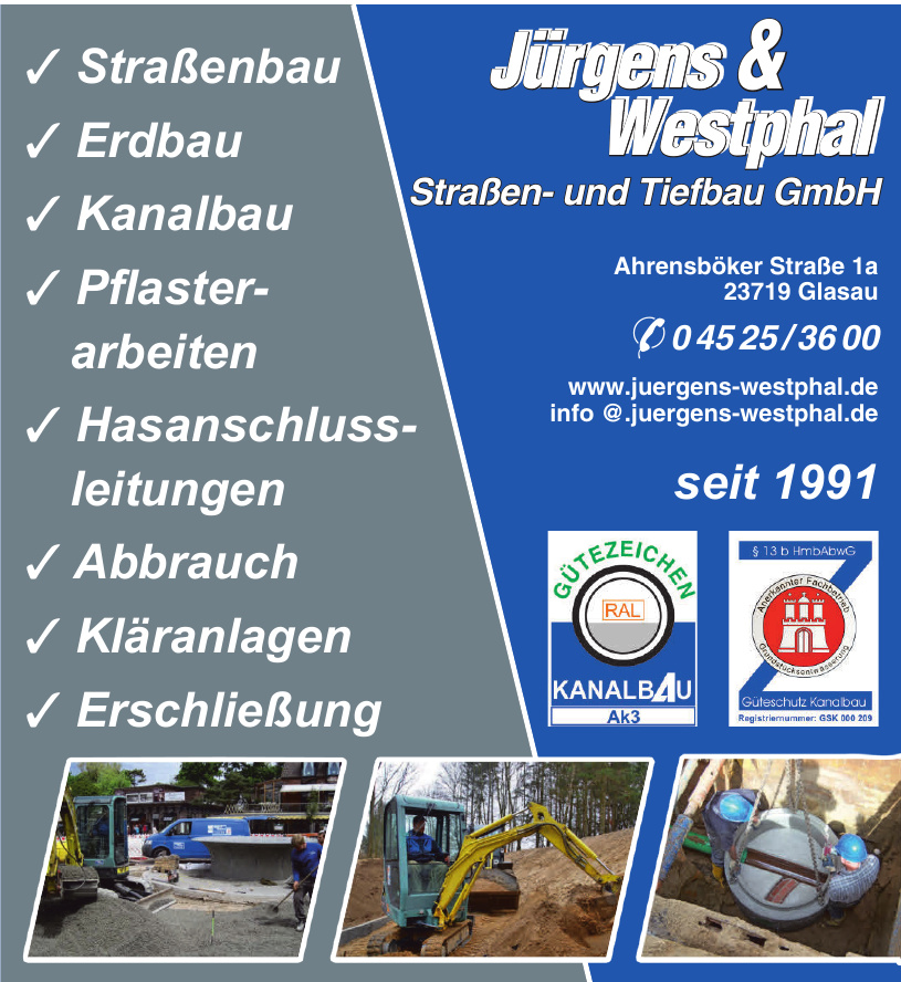 Jürgens & Westphal Straßen- und Tiefbau GmbH