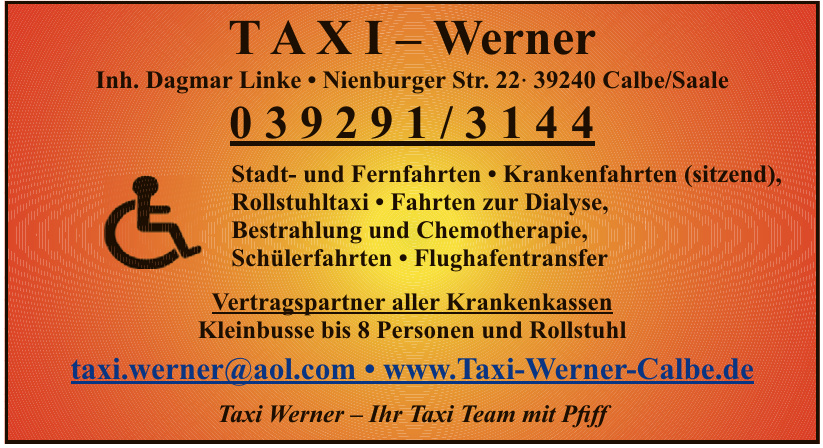 TAXI – Werner