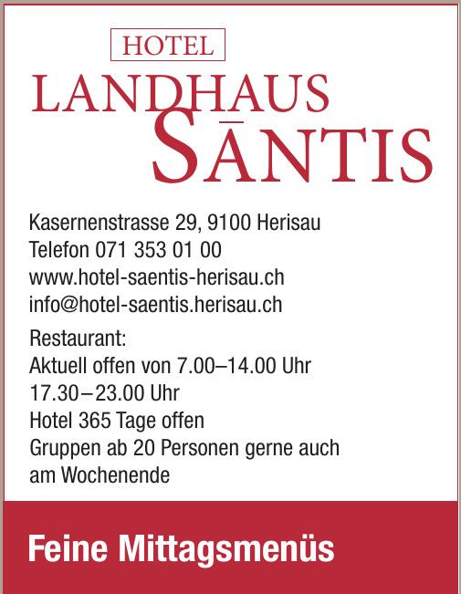 Hotel Landhaus Santis