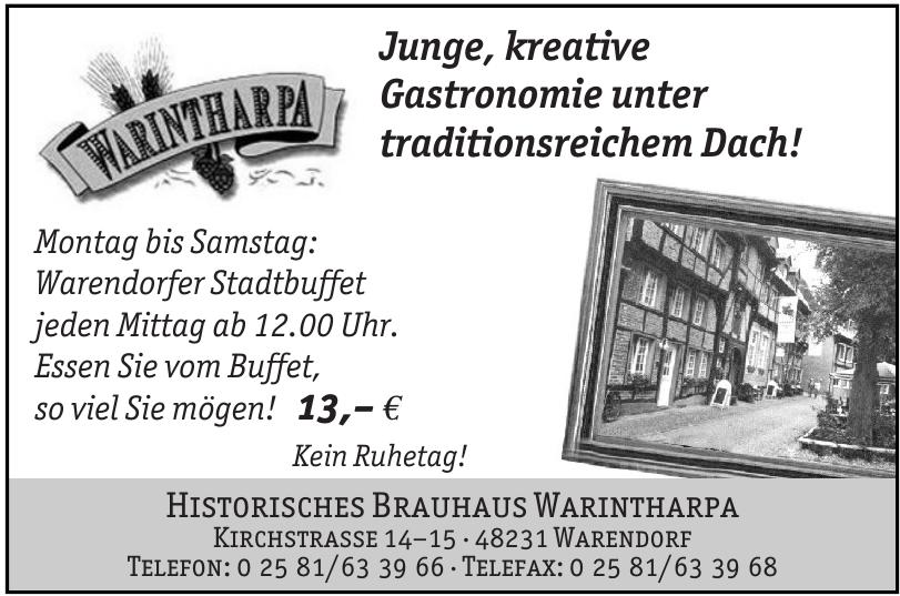Historisches Brauhaus Warintharpa