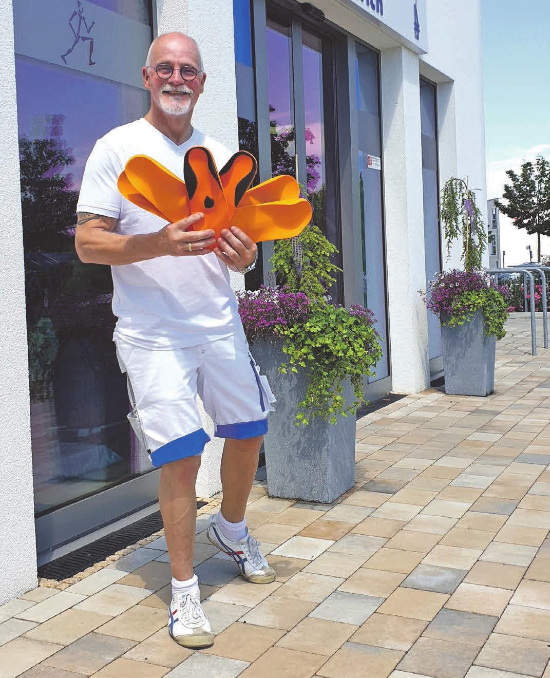 Orthopädietechnik-Meister Axel Ulrich empfiehlt den Kunden Einlagen für gesunde Füße. Foto: privat