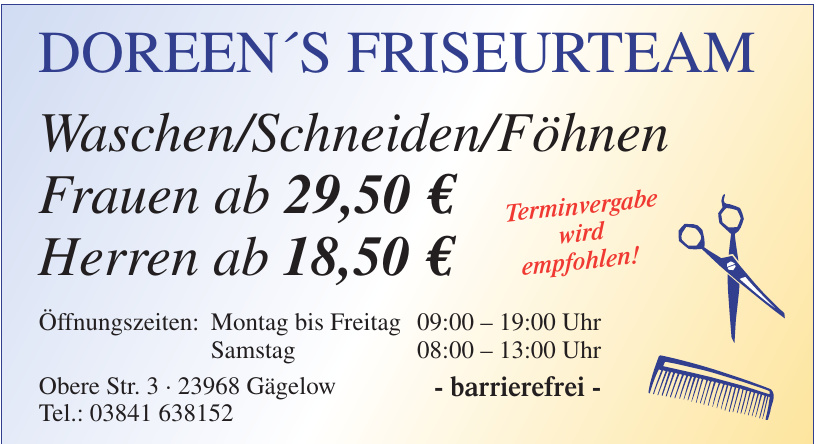 Doreen´s Friseurteam