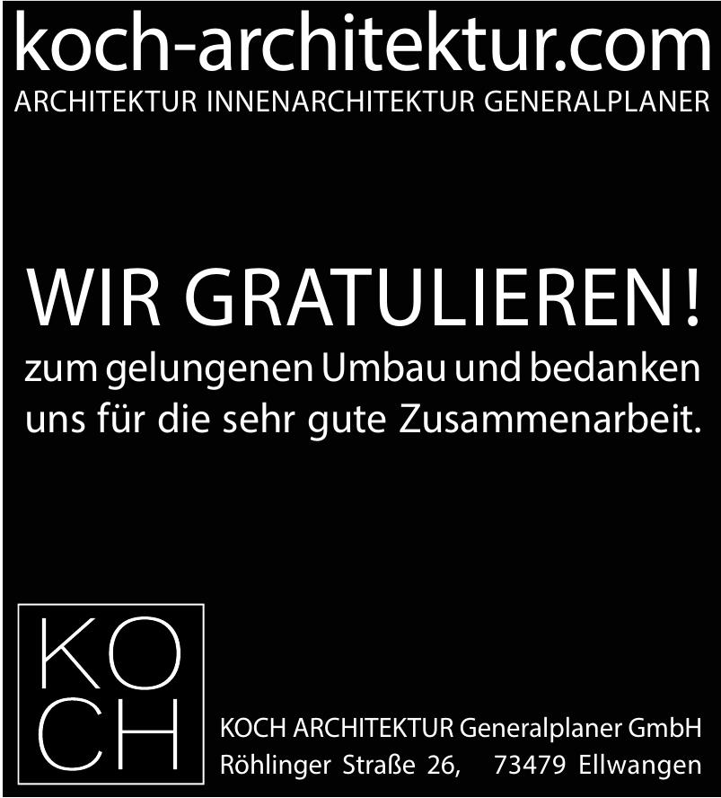 kOch Architektur Generalplaner Gmbh