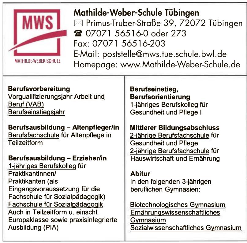 Mathilde-Weber-Schule