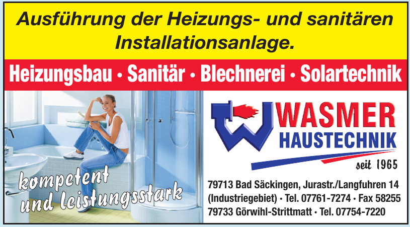 Wasmer Haustechnik