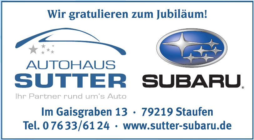 Autohaus Sutter