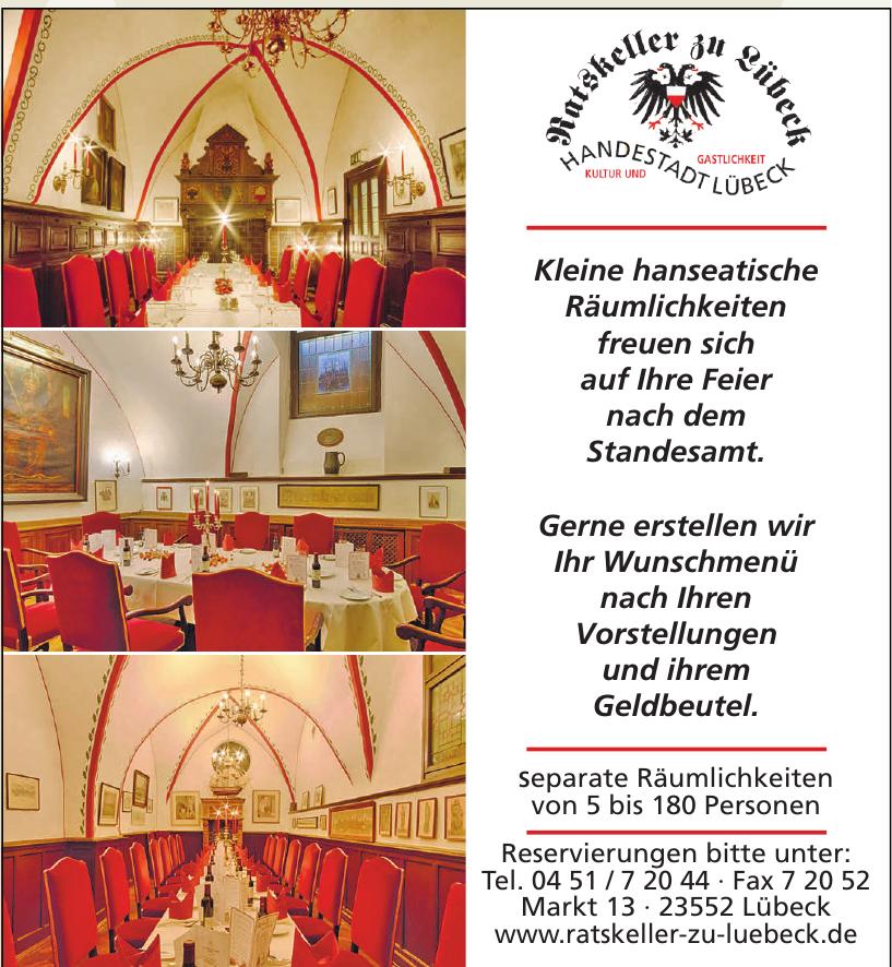 Ratskeller zu Lübeck
