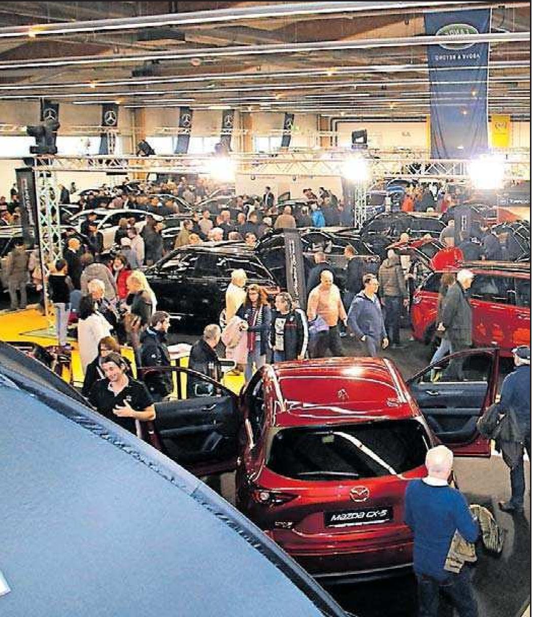 Auf kleinstem Raum finden sich bis zu 200 Autos. FOTO: FRITS/FREI