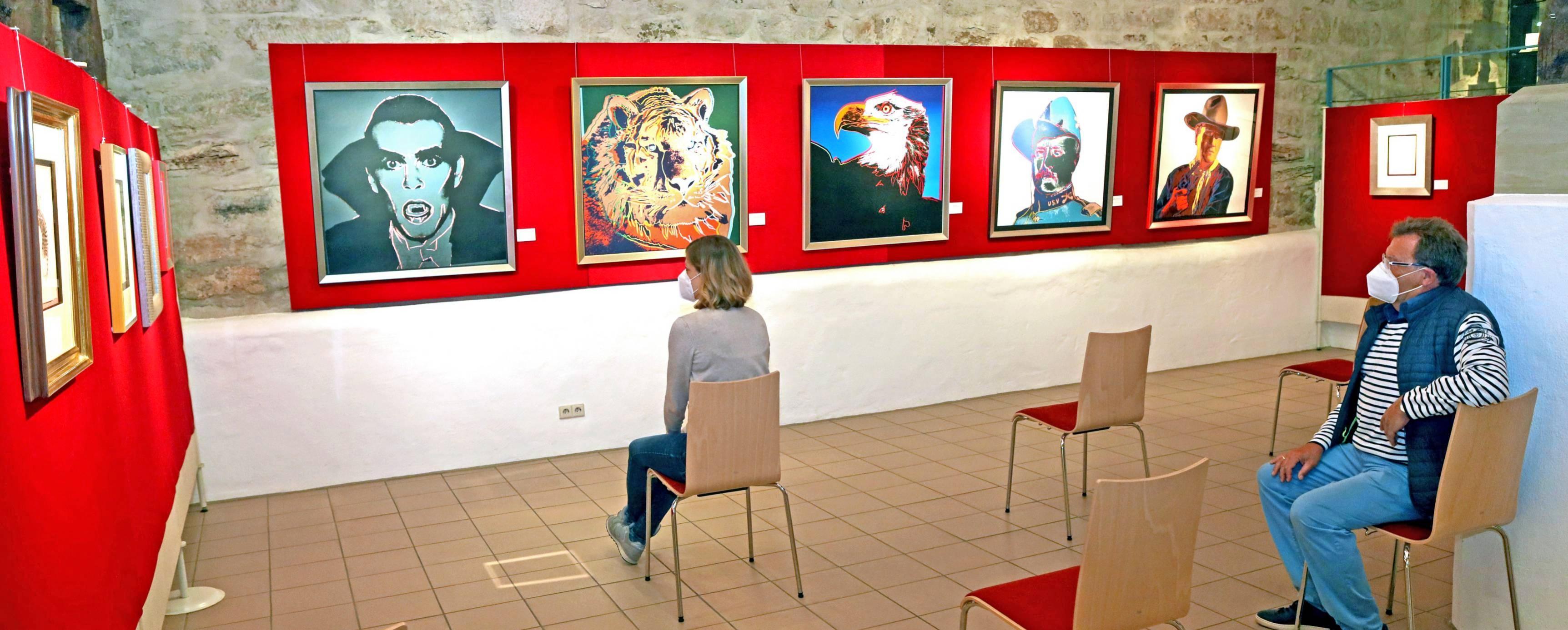 Auf vielfachen Wunsch der Besucher wird die Pop-Art-Ausstellung im Museum im Schafstall verlängert. Sie ist nach der Sommerpause noch bis Ende Januar kommenden Jahres zu sehen. Foto: Archiv/Seidel