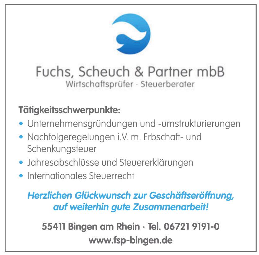 Fuchs, Scheuch & Partner mbB