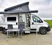 Wer nur zu zweit unterwegs ist, ist mit einem Campingbus gut bedient. FOTO: CITROËN