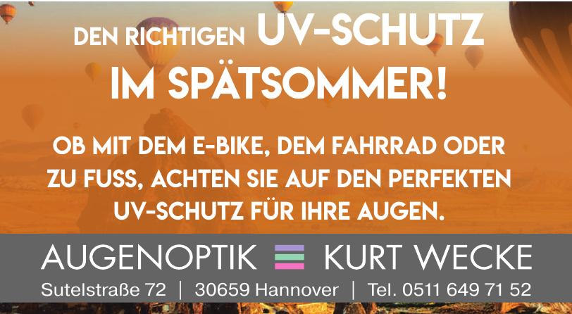 Augenoptik Kurt Wecke