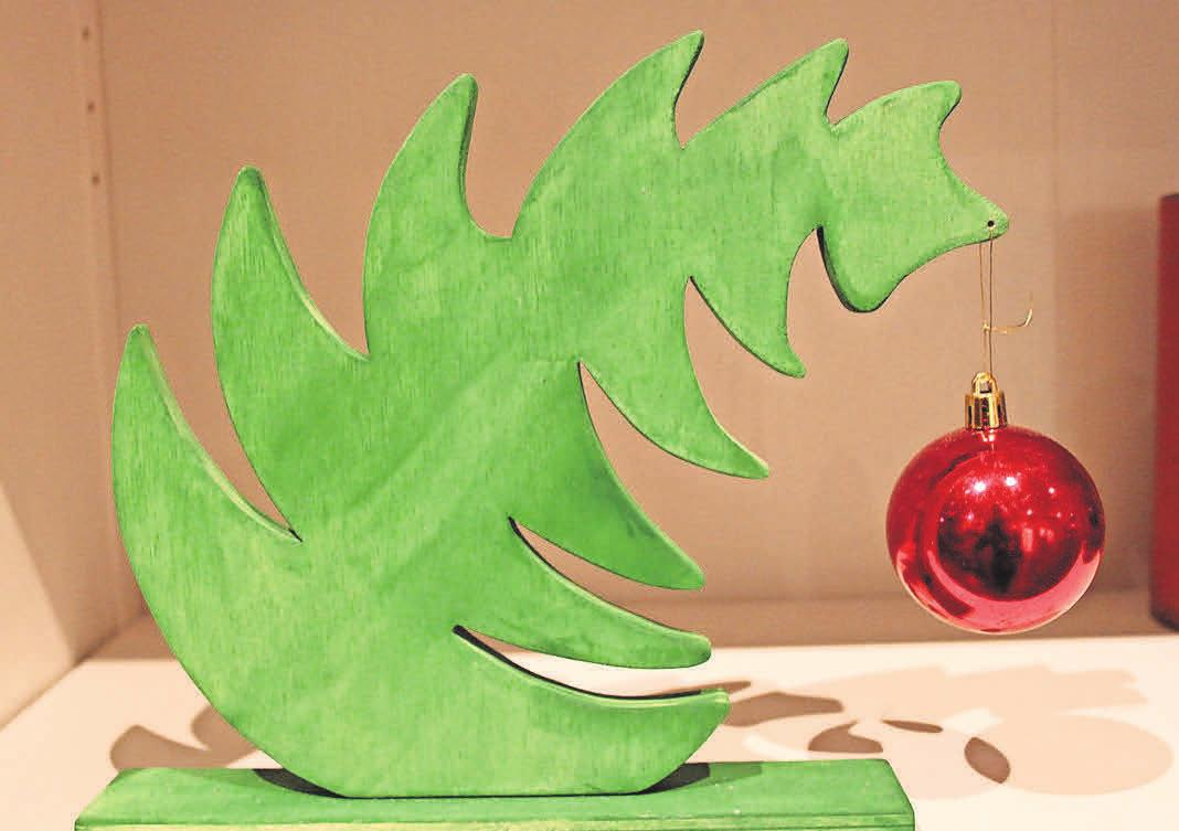 Kreative Produkte aus den Marli-Werkstätten sind beliebte Weihnachtsgeschenke und können beim Lichterfest erworben werden.
