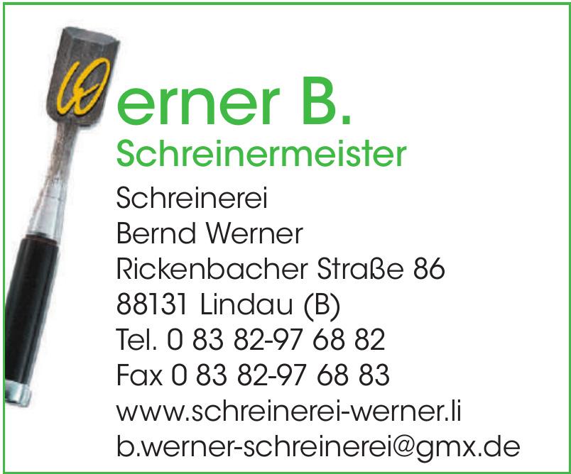 Werner B. Schreinermeister