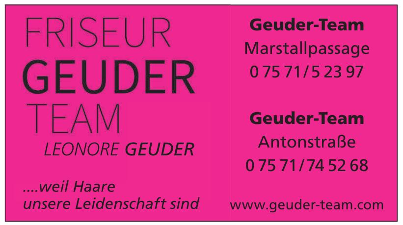 Friseur Geuder Team