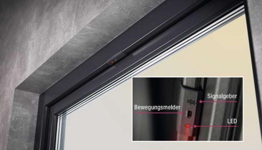 Das Smart-Guard-Sytem von Rehau schlägt bereits Alarm, wenn sich Einbrecher dem Fenster auf bis zu 20 Zentimeter nähern. FOTO: REHAU